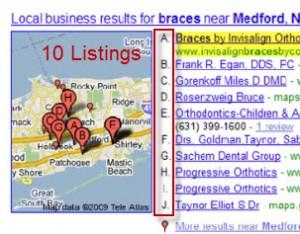 10 Maps Listings
