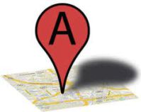 """Google Places """"A"""" Position Pin"""