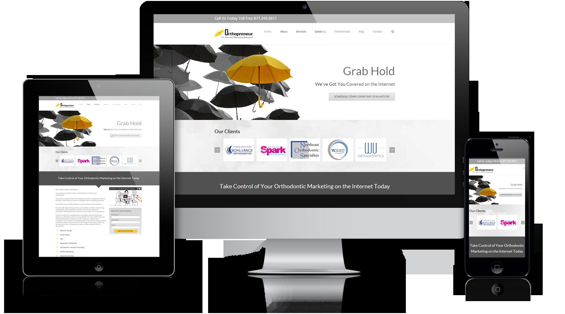 Orthodontic Website Design