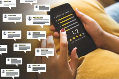 Orthopreneur Internet Marketing blog post about 2020 online consumer reviews survey by Bright Local